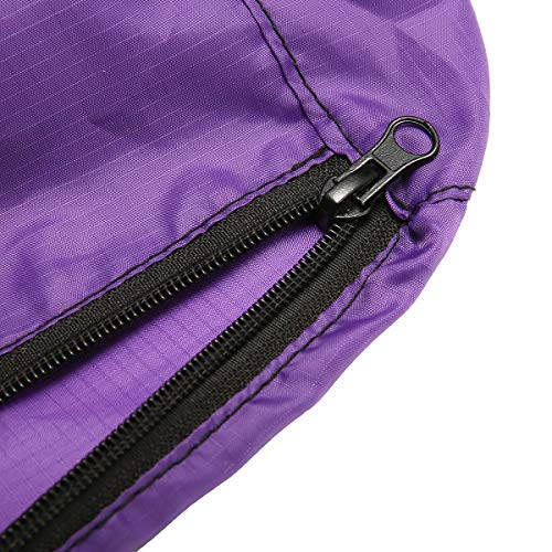 Essort Hay Bale Storage Bag, Extra Large Tote Hay Bale Carry Bag, Foldable Portable Horse and Livestock Hay Bale Bags with Zipper Waterproof, Purple 45'' x 14'' x 23'' by ESSORT (Image #6)
