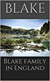 Blake family in England
