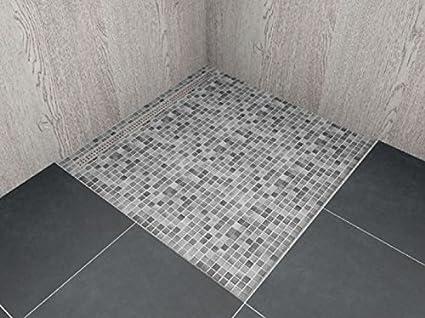 Begehbare Dusche Mit Rinne Massanfertigung Bis 1 0 M Lbf Rinnenlange