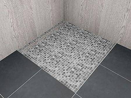 Gut gemocht begehbare Dusche mit Rinne Maßanfertigung bis 1,0 m² LBF XA76