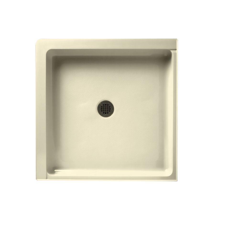 Swanstone SD03636MD.037 36-Inch x 36-Inch Double Threshold Shower Floor, Bone 30%OFF