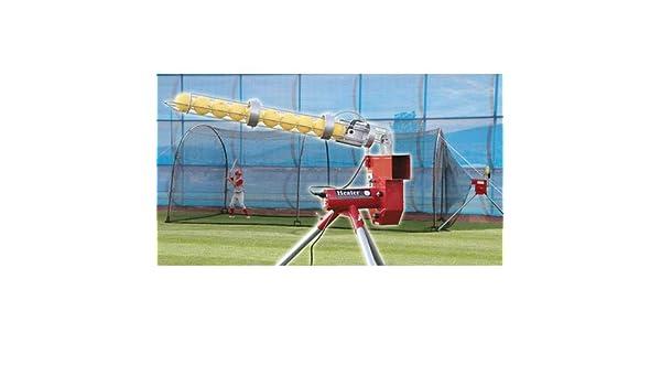 Calentador deportes Deuce doble rueda máquina de lanzamiento y ...
