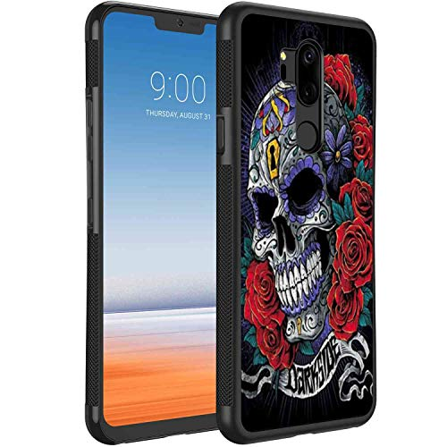 Suger Skull Rose2 Phone Case Compatible with LG G7 ThinQ (2018) 6.1 Version]()