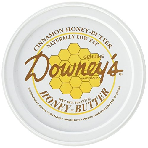 Downey's Natural Cinnamon Honey Butter, 8 Ounce - Honey Spread