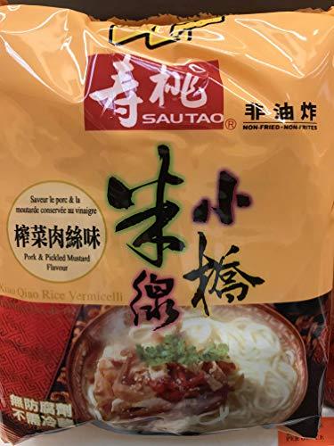 (Sautao Rice Vermicelli Non Fried (Pork & Pickled Mustard) - 4 Pack)