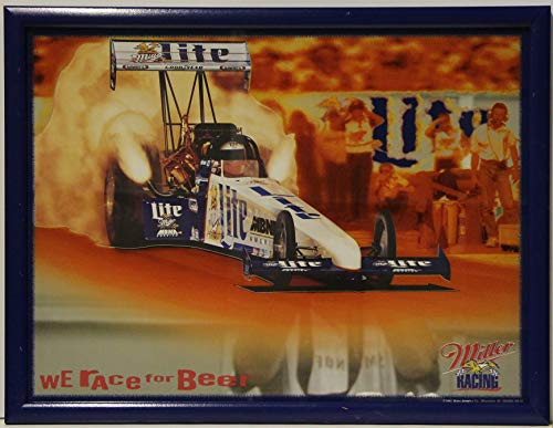 - NHRA Miller Lite Racing Mirror Drag Racing top Fuel Rail