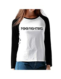 Women's Foo Fighters Band Logo Baseball Raglan T-Shirt