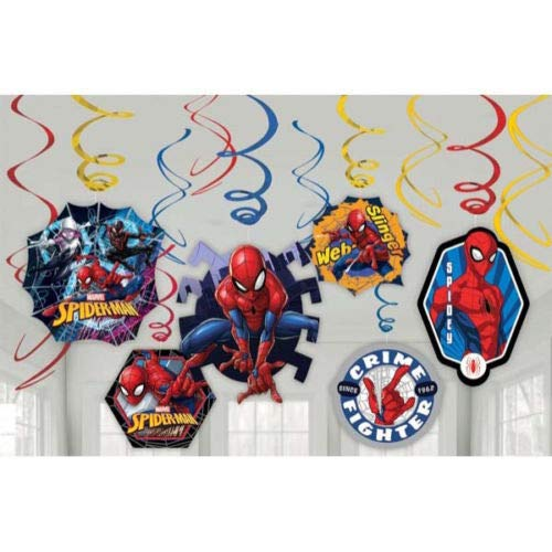 Amazon.com: Marvels Amazing Spiderman Dangling Swirl ...