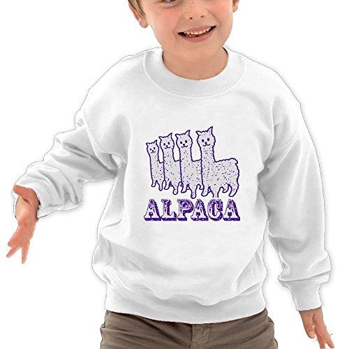 Mkajkkok Alpaca Purple Line It's Everyday Bro Kids Fashion R