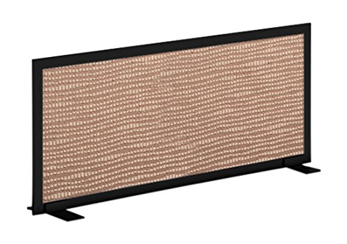 OBEX 24X42A-B-TE-FS Acoustical Free Standing Privacy Screen, 24
