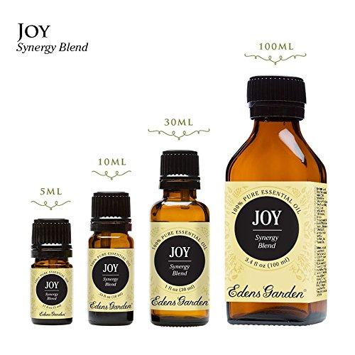 Joy Synergy Blend Essential Oil by Edens Garden (Comparable to DoTerra's Elevation)