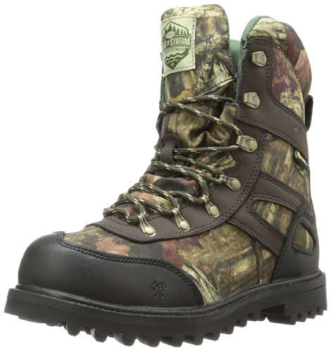 8' Insulated Hunting Boots - Wood n' Stream Men's 1002 Interceptor Boot,Mossy Oak Break Up Infinity,11 M US