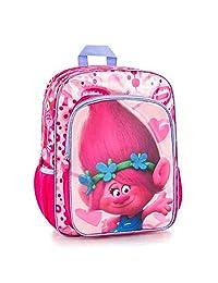 DreamWorks Trolls Brand New Classic Designed Multicolored Kids Glittering Fashionable Backpack 15 Inch