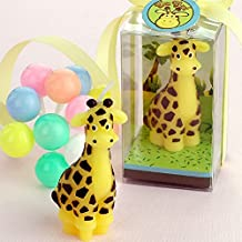 RedC Creative Giraffe Cartoon birthday Candle, Smokeless Cake candle and Party Supplies, Hand-made Cake Topper Decoration, Great Gift
