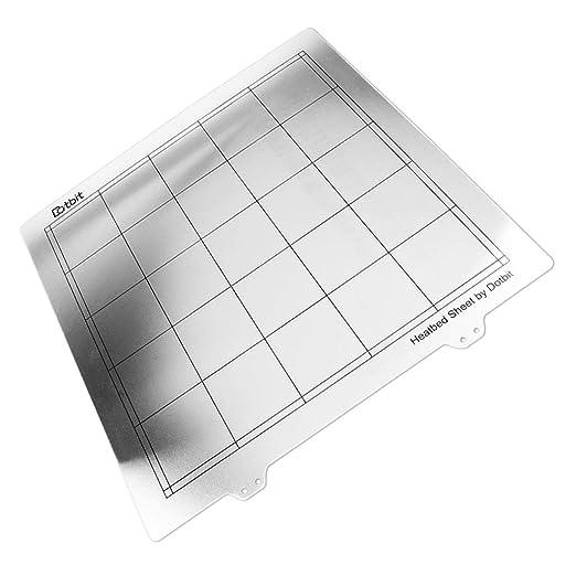 Baoblaze Cama Caliente de Acero para Impresora 3D 220 x 220 ...