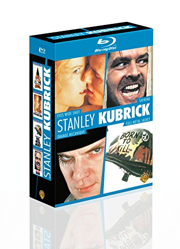 Stanley Kubrick - Coffret - Eyes Wide Shut + Shining + Orange mécanique + Full Metal Jacket [Blu-ray]