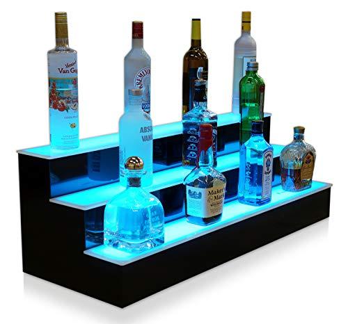 Three Tier Liquor Bottle Shelf - Customized Designs 36