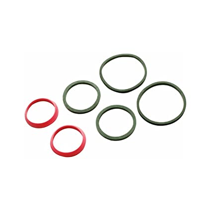 Keeney 25513K Slip Joint Washer Assortment, Black, Red - Faucet ...