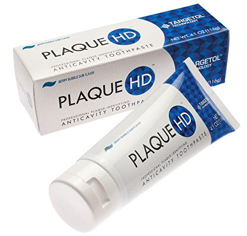 Plaque HD Toothpaste  (Berry Bubble Gum) by PlaqueHD (Image #1)
