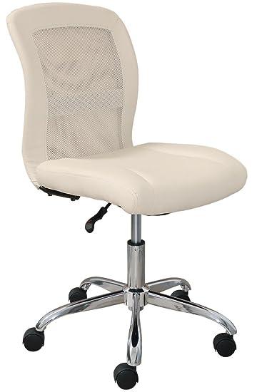 amazon com serta essentials ergonomic armless low back computer