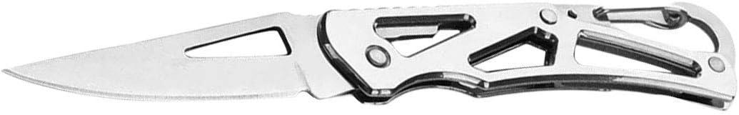 Image of1 Unids Plegable de Acero Inoxidable Cuchillo de Bolsillo Mini Portátil Cuchillo Plegable Cortador de Frutas Práctico Acampar Al Aire Libre Herramienta de Supervivencia