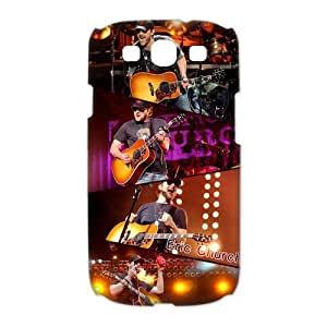Custom Popualr Country Singer Eric Church Printed Hard Plastic Back Protective Case for Samsung Galaxy S3 I9300 FC-3