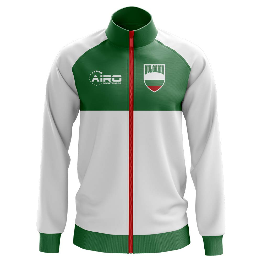 Airo Sportswear Bulgaria Concept Football Track Jacket (Weiß)