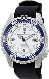 Momentum - Reloj casual de acero inoxidable y hule para hombre'Deep 6', color negro (modelo: 1M-DV06W11B)