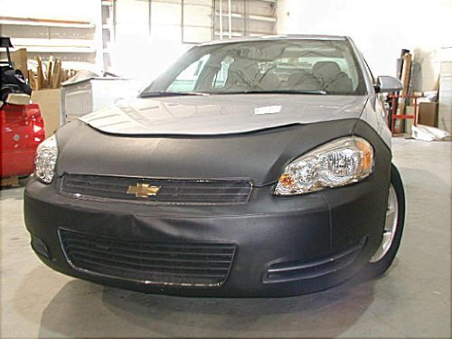 Lebra 2 piece Front End Cover Black - Car Mask Bra - Fits - CHEVROLET Chevy IMPALA Sedan (Lebra Front End Cover)