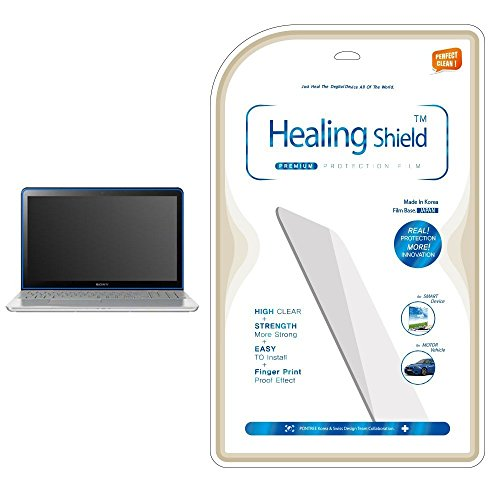 Healingshield AFP Olephobic Premium LCD Screen Protector for Sony Vaio Fit15 (Svf15 Series)