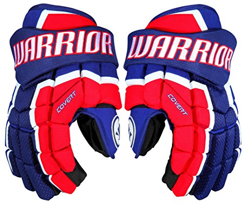 Warrior QRL3 Gloves, Size 10, Dark Royal/Red -