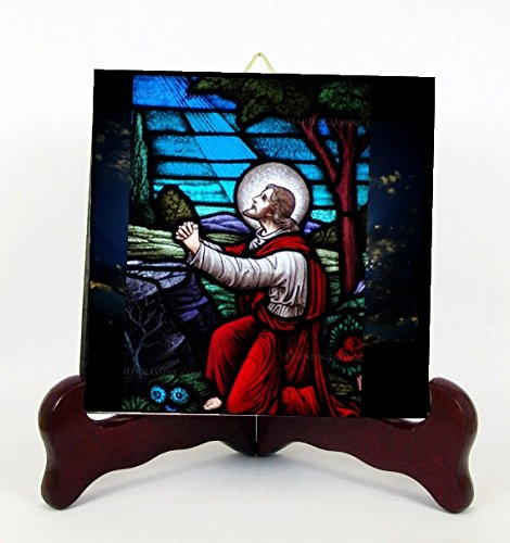 Gethsemane The Mount of Olives Our Lord  - Holy Spirit Stained Glass Shopping Results
