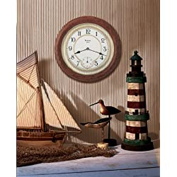 William 14 in. Wall Clock by Bulova