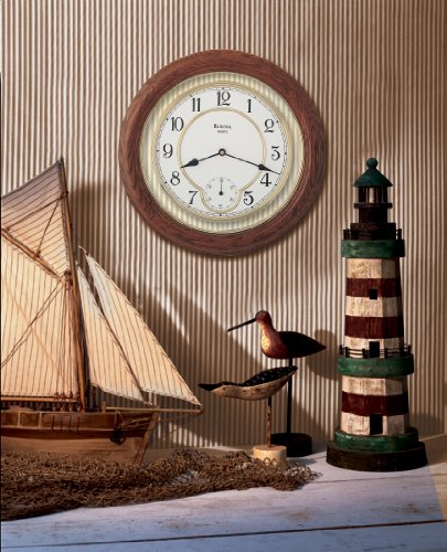 William 14 in. Wall Clock by Bulova ()