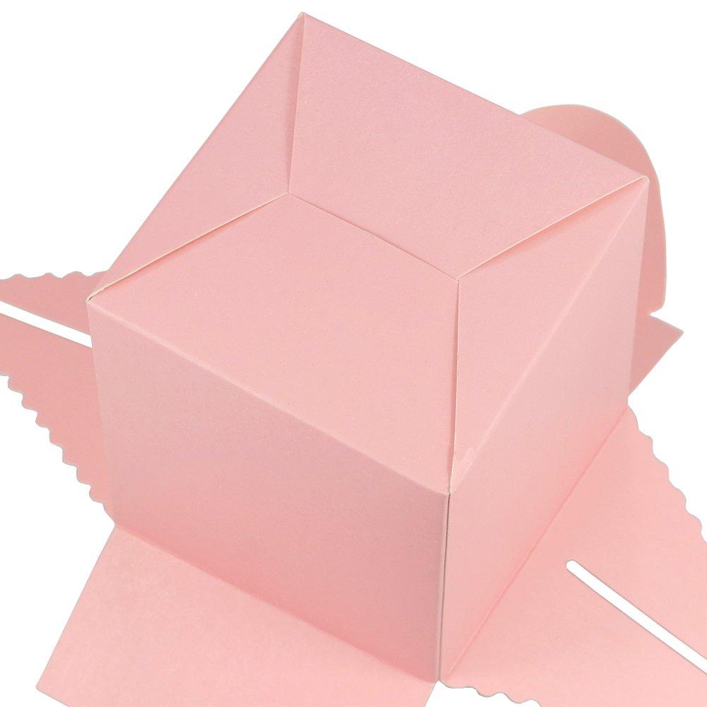 Villavivi Scatoline Portadolci Di Carta Cartone Per Torta Di Festa Compleanno Party 30