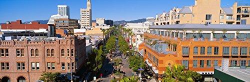 Third Street Promenade Santa Monica California Poster Print (36 x - Monica Promenade The Santa