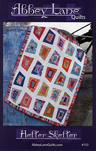 Abbey Quilt - Helter Skelter Quilt Pattern by Abbey Lane Quilts #153 56