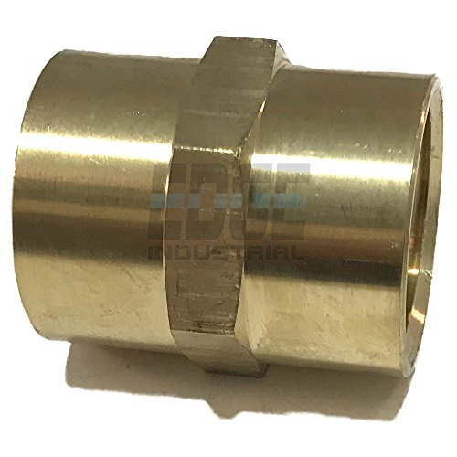 Edge Industrial Brass Coupling 1