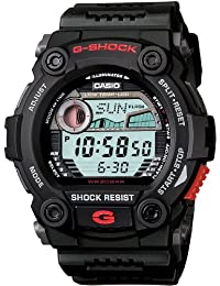 Men's G7900-1 G-Shock Rescue Digital Sport Black Resin Watch