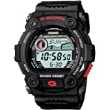 Casio Men's G7900-1 G-Shock Rescue Digital Sport Black Resin Watch
