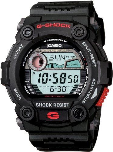 Casio Men's G7900-1 G-Shock Rescue Digital Sport Black Resin Watch by Casio
