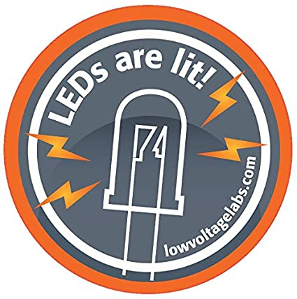 Amazon com: Low Voltage Labs - LEDs are lit! 2 inch Round