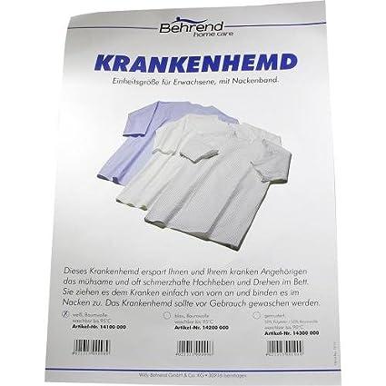Heridos Camisa Koch fijo blanco 1 pieza