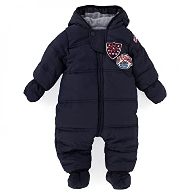 fdfd63a51 Levi s Ayrton Designer Baby Boys Navy Snowsuit All in ONE 12 Months ...