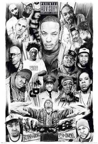 Empire 105578 Parental Advisory Rap Gods2 Hip Hop Poster 61 Cm X 91 5 Cm Amazon De Home Kitchen