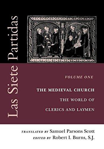 Las Siete Partidas, vol. 1 (Middle Ages Series)