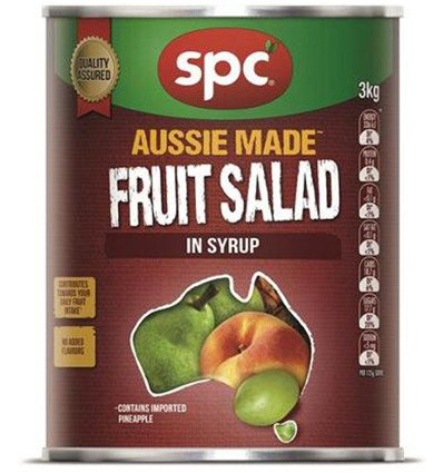 Spc Ardmona Ensalada de Frutas Cóctel de Jarabe de 3kg: Amazon.es: Alimentación y bebidas
