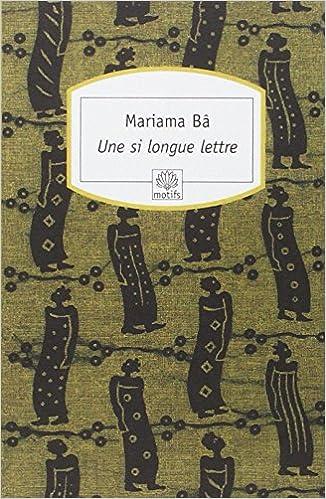 Une si longue lettre - Mariama Ba