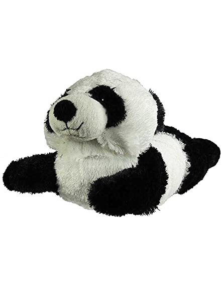 Adults Panda Animal Slippers, Black, White
