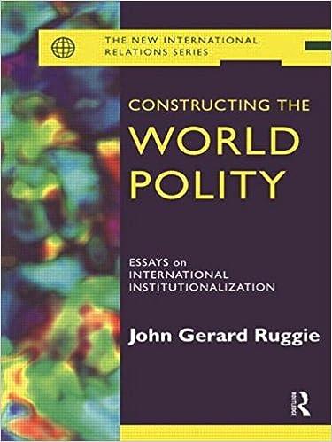 Amazon com: Constructing the World Polity: Essays on